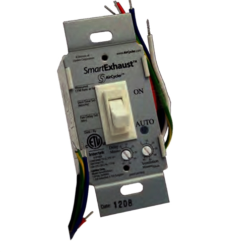 Smartexhaust Ventilation Control Timer And Light Switch