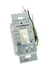 SmartExhaust ventilation control, timer and light switch