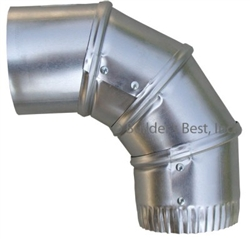4 inch adjustable aluminum elbow