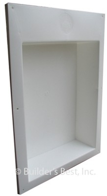 Dryer Vent Outlet Box For 2x4 Or 2x6 Construction Bb110698