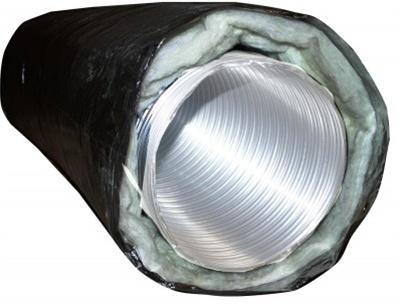 Builder S Best 6 Quot Insulated Metal Flex Ducting