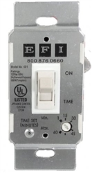 Fantech/EFI Fan Delay Timer Switch