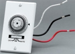 In-wall electro-mechanical timer