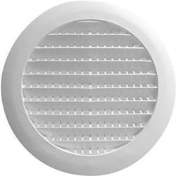 "BB111871 6"" Diameter Soffit Vent Termination Fitting"