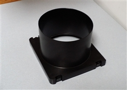 "Snap-in duct adapter for 6"" ducting"