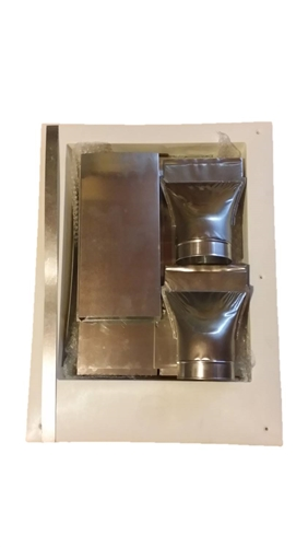 Clothes Dryer Vent Box ~ Dryer vent outlet box kit for high walls bb