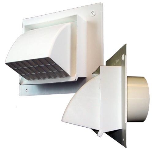 Hood Exhaust Fan ~ Intake or exhaust vent hood for quot ducting primex wc